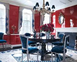 William Waldron In The Lacquered Dining Room