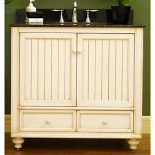 Distressed Bathroom Vanity 36 by Beach Cottage Cabinets Cottage Style 36