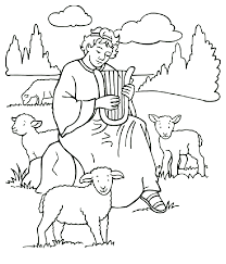 Excellent No David Coloring Pages For KIDS