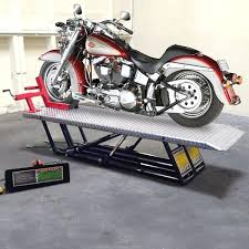 Motorcycle Storage Lift Adapter Kit Wall