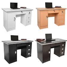 table de bureau en bois bureau table ordinateur de bureau poste de travail simple pc