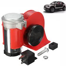 Red 12V 136db Loud Car Horn Snail Compact Air Horn For Auto ... 5x Black Trumpet Musical Dixie Car Duke Of Hazzar Compressor 12v 150db Super Loud Triple Air Horn Horns Truck Train Boat Longest Semi Driver Blows Air Horns 4 Video Youtube Big Mikes Motor Pool Military Truck Parts M35a2 Hornblasters Install Truckin Magazine 12 24v 150db Electric For Volvo Scania Superin Auto Accsories Headlight Bulbs Gifts Single China Powerful Speaker Snail Installing On Your Kit Tips Demo Of 24volt Stebel Nautilus Compact 300hz New Relay Gm Systems Kleinn Pair 2 Big Rig Viair 150psi Kit Sale