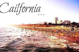 Beach California Girl And West Coast Image