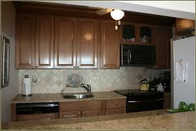 Kitchen Soffit Painting Ideas by Antique Staining Kitchen Cabinets Home Design Ideas