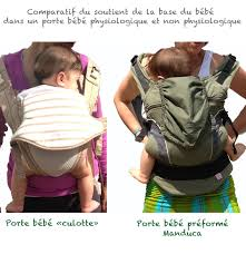 les porte bébés non physiologiques les porte bébés culotte