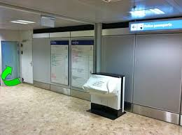 ève aéroport formalities schengen