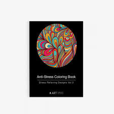 Anti Stress Coloring Book Relieving Designs Vol 3 Front Cover