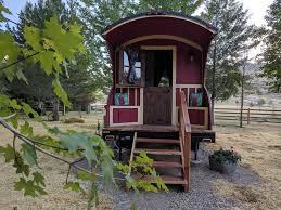 100 Gypsy Tiny House 3 Wagon On The Salmon River Ellis Idaho