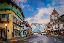 Leavenworth Washington during the annual Leavenworth s Town and