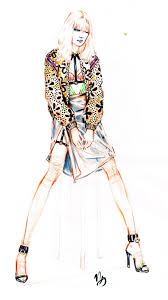 Fashion Sketches By Nicole Guice