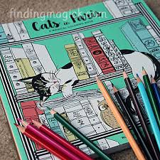 Cats In Paris Coloring Book Square Cover Image