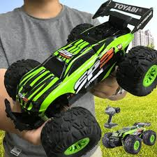 100 Monster Truck Remote Control Hot Deals RC Car 24G 118 Car Toys Ler Model OffRoad Vehicle Toy 15KMH For Kids