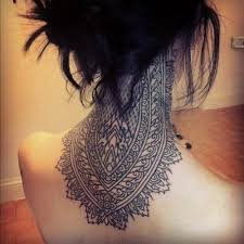 Embroidery On The Neck