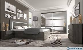 chambre avec lit noir chambre adulte contemporaine chêne noir lit avec tiroirs ely a