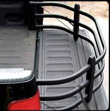 amp research black powdercoat bed extender sport bedxtender hd