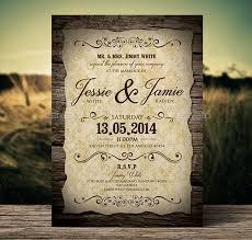 Beautiful Wedding Invitation Templates Vintage
