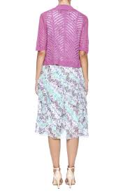 nina leonard two piece floral dress from california by richmar