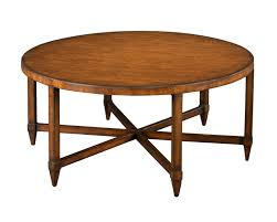 Old Round Cocktail Table Wth 6 Legs Made From Reclaimed Wood For Rustic Living Room Furniture Ideas
