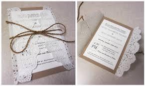 Wedding InvitationsSimple Handmade Rustic Invitations Your Ideas Magazine