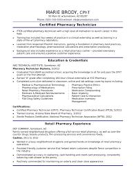 Functional Pharmacy Technician Resume Template