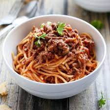véritables spaghetti bolognaise maison la vie grande