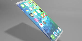 Futuristic All Glass Design For iPhone 8