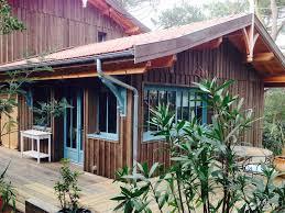 maison en bois cap ferret mimbeau le charme d une cabane en bois et le confort d une