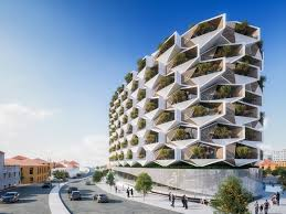 100 Apartment Architecture Design Trees Will Grow On The Balconies Of Istanbuls Honeycomb