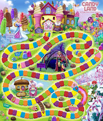 Candyland Game Board Template Pinterest The O