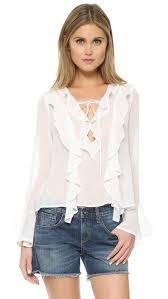 for love u0026 lemons eva blouse shopbop