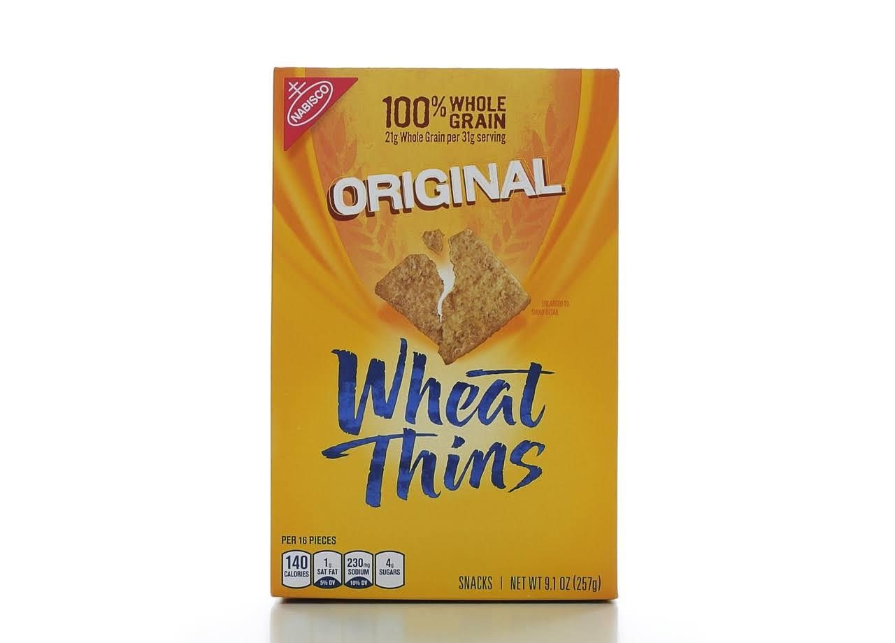 Nabisco Wheat Thins - Original, 9.1oz