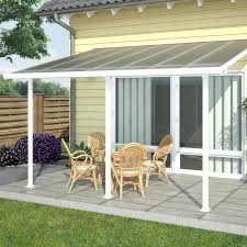 Palram Feria Patio Cover Uk by Palram Canada 702721 Feria 10 Ft X 14 Ft Patio Cover Lowe U0027s Canada