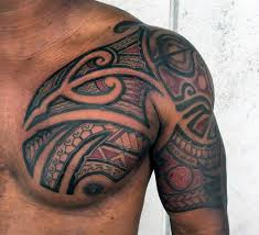 Hawaiian Tattoo Half Sleeve For Men