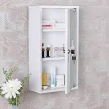 kadima design medizinschrank alle holz weiß 26 x 48 x 12 cm