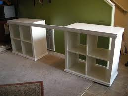 Wall Mounted Desk Ikea Hack by Expedit Desk Ikea Hackers Clever Ideas And Hacks For Your Ikea