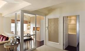 Smashing Living Room Door American Minimalist Style Study And Hidden Design