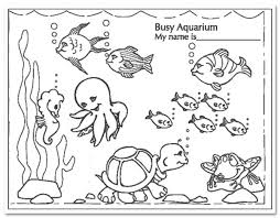 Coloring Pages Of Fish Tank Tanks Thomas The Engine Printable