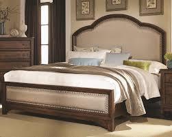 Amazon Upholstered King Headboard by Amazon Com Coaster 203261ke Laughton Cocoa Brown Casual E King