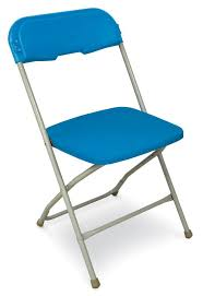 100 Blue Plastic Folding Chairs USA Made Chair Series 5 Event And Rental
