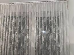 barock gardinen wohnzimmer kurzstore weiß falten gerafft