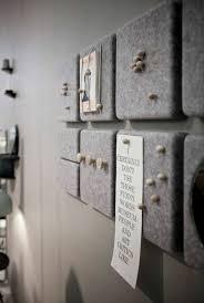 memoboard selber machen pinnwände dekoriert mit grauem