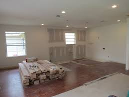 recessed lighting living room placement