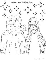 Abraham And Sarah Activity Page Your Child Colors The