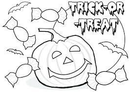 Kids Printable Coloring Pages Cute Halloween Pumpkin Free