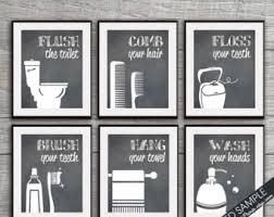 Funny Bathroom Art Etsy by Wash Hair Print Etsy