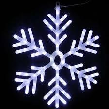 Indoor Outdoor Snowflake Christmas Lights Christmas