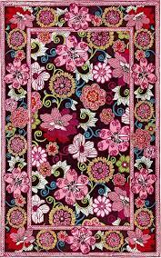 Marcella Vera Bradley Signature VBY041B Mod Floral Pink Closeout