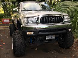 1 2003 Tacoma Toyota Fabtech Suspension Lift 7in Body 3in Weld Racing Sidewinder Polished