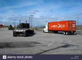 100 Truck Stops California Stop On Interstate 10 Near Cabazon Stock Photo