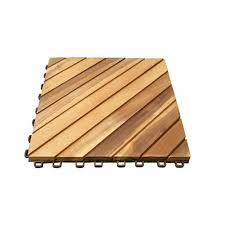 vifah acacia hardwood 11 22 x 11 22 interlocking deck tile